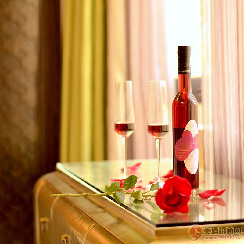 玫林蜜语 12度玫瑰蜂蜜酒