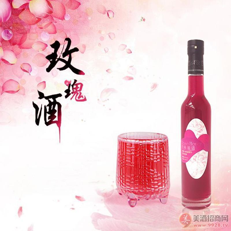 广东12度玫瑰蜂蜜酒招商