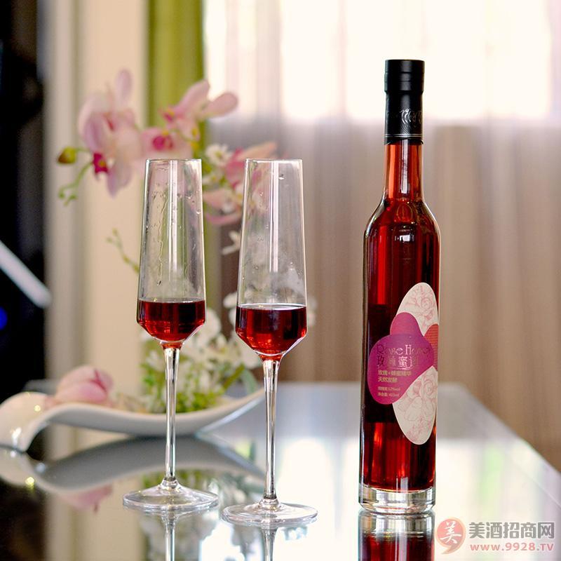 厂家直供 12度玫瑰蜂蜜酒