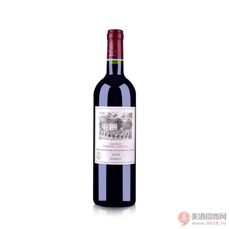 拉菲凯萨天堂古堡葡萄酒