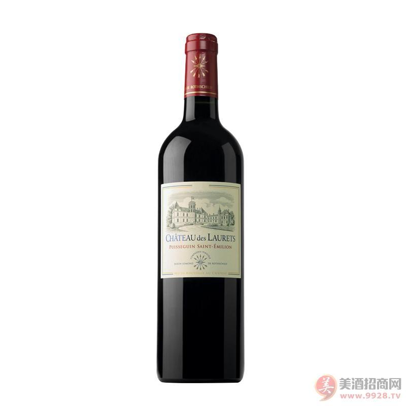 劳蕾丝古堡红葡萄酒右岸小拉菲