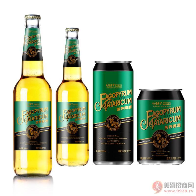 扬子苦荞啤酒诚邀代理加盟