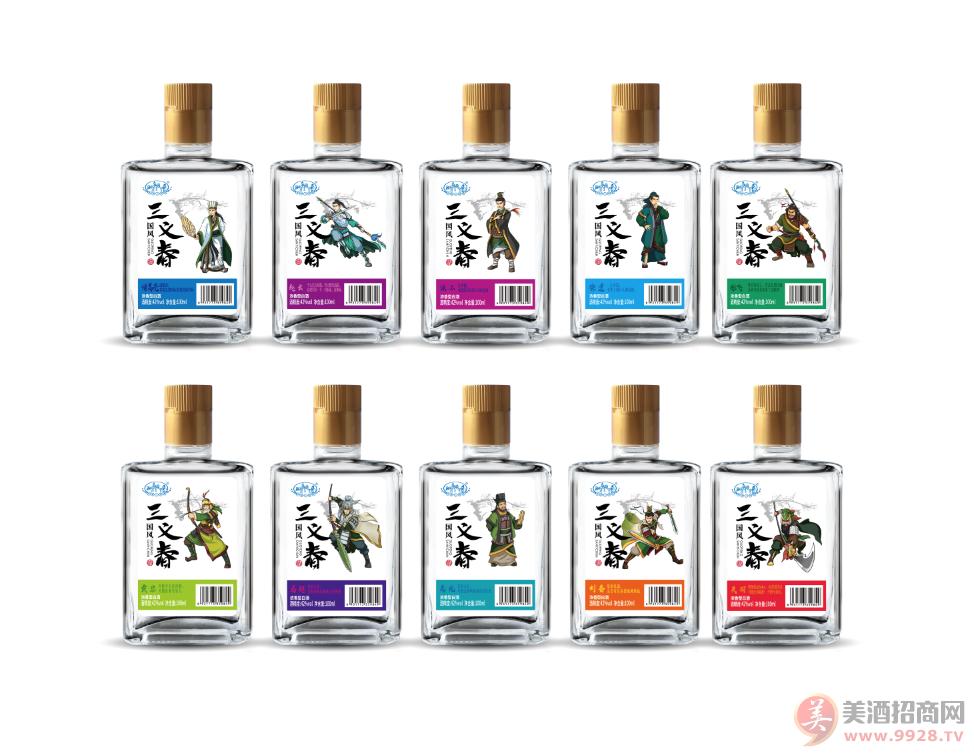 国风三义春浓香型系列白酒