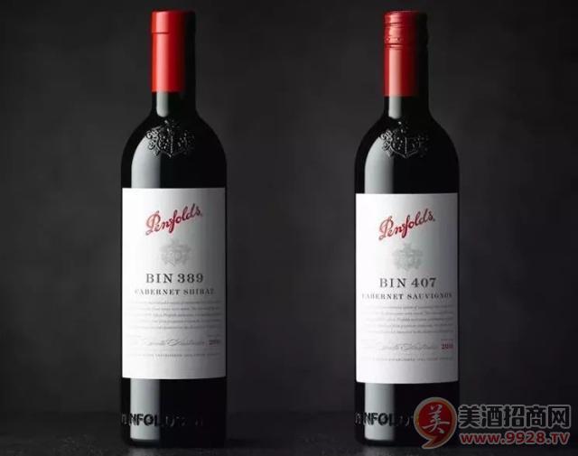 奔富407奔富389系列葡萄酒