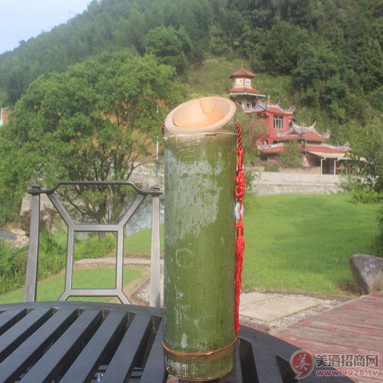 竹筒酒厂家代理批发活竹酒鲜竹酒