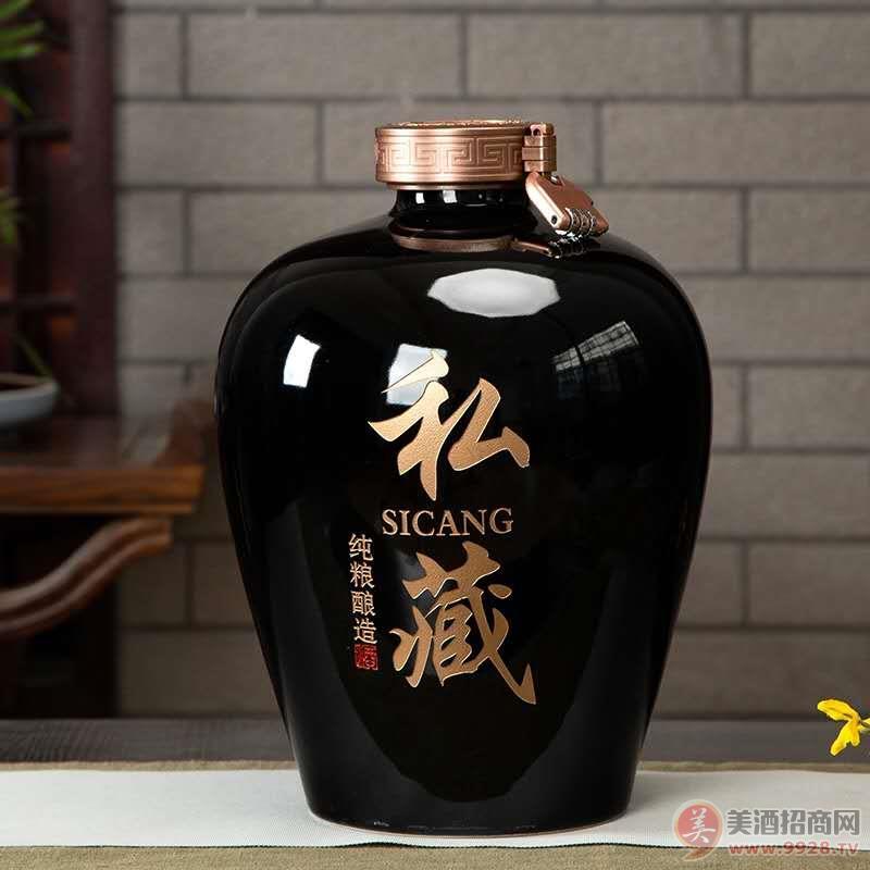 陶瓷坛定制酒2500ml