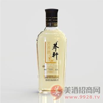 荞轩苦荞酒黑荞42度光瓶