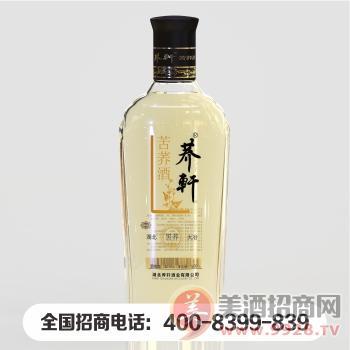 荞轩苦荞酒光瓶装低度酒厂家招商