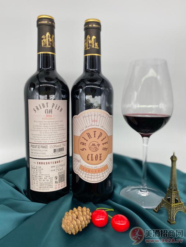 圣彼昂克洛埃干红葡萄酒