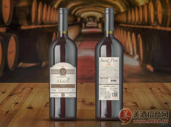 圣彼昂莫提莉干红葡萄酒