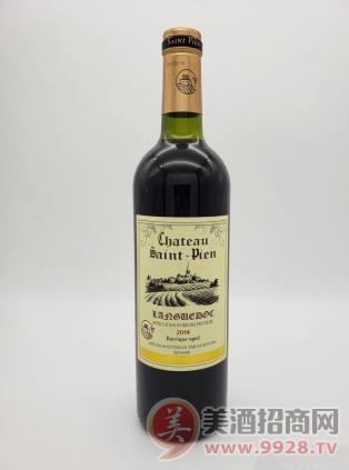 圣彼昂城堡干红葡萄酒