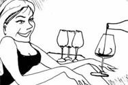 葡萄酒的荤段子