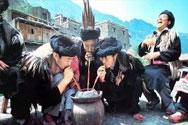 古代遗留饮酒方式—饮咂酒