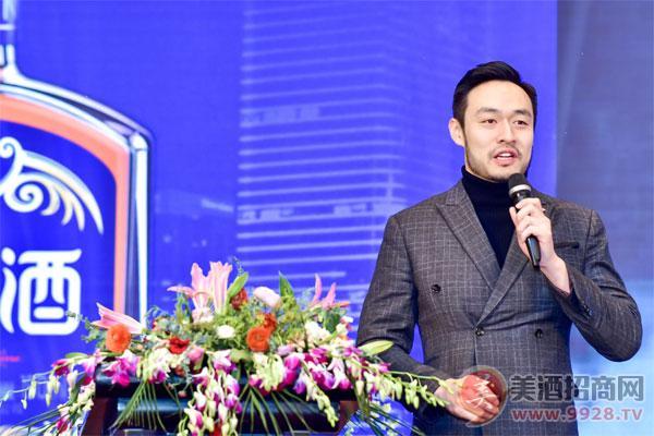 上海开山酒业创始人、首席执行官唐炜