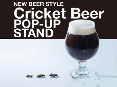 日本推出蟋蟀啤酒,�⒂�3月限�r�l售