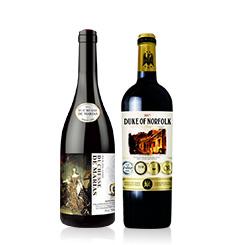 来自法国波尔多的白马康帝葡萄酒