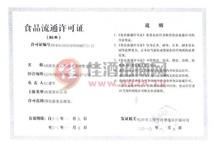 食品流通许可证(副本)
