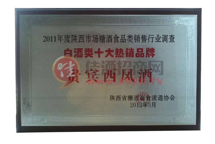2011年度十大热销品牌