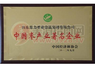 中国枣产业著名企业