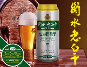 衡水老白干啤酒招商官网