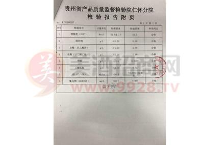 2018白金老酱酒VIP鉴赏质检报告3