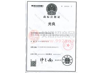 商标注册证-光良