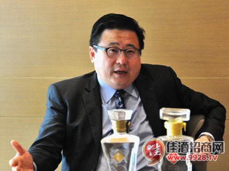 文君酒总裁叶伟才接受媒体采访