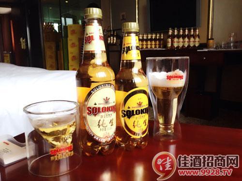 斯洛克PET纯生啤酒闪亮登场2014年全国春季糖酒会