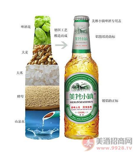 美林小镇啤酒代理费是多少?_青岛汇海铭洋啤酒有限_美
