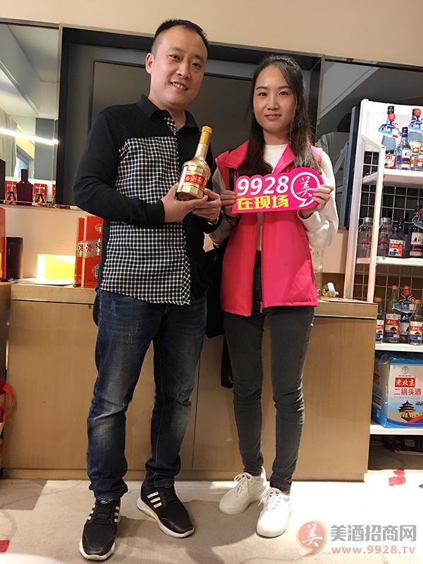旺销酒水品牌浏阳河酒精彩亮相2017重庆秋糖会