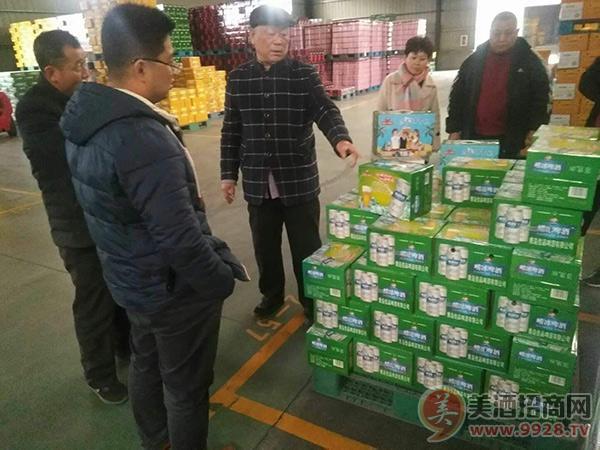 青岛佳品啤酒有限公司仓库