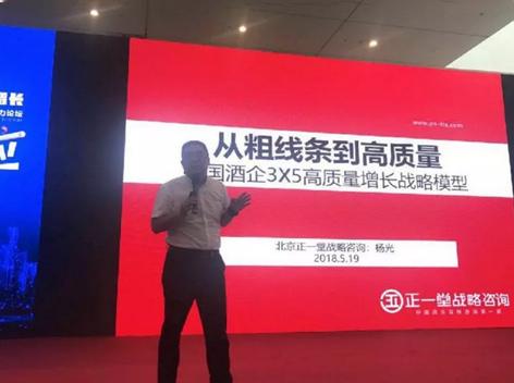杨光:从粗线条到高质量,中国酒企3X5高质量增长战略模型