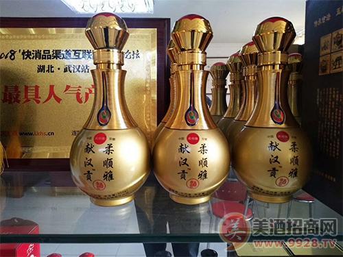 热烈祝贺献汉贡酒柔顺雅,强势入驻江西赣州市