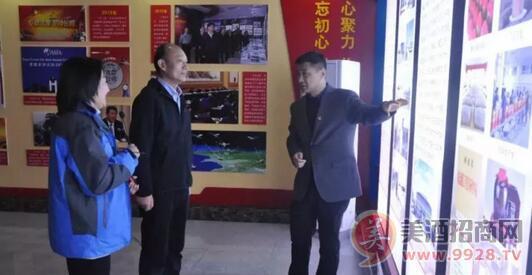 省文化和旅游厅副朱建伟一行调研豫坡集团