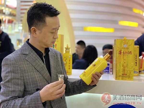 2019成都春季糖酒会上茅仙酒邀您共享酱酒财富盛宴
