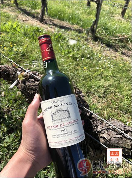 法国波美侯拉芙海酒庄干红葡萄酒