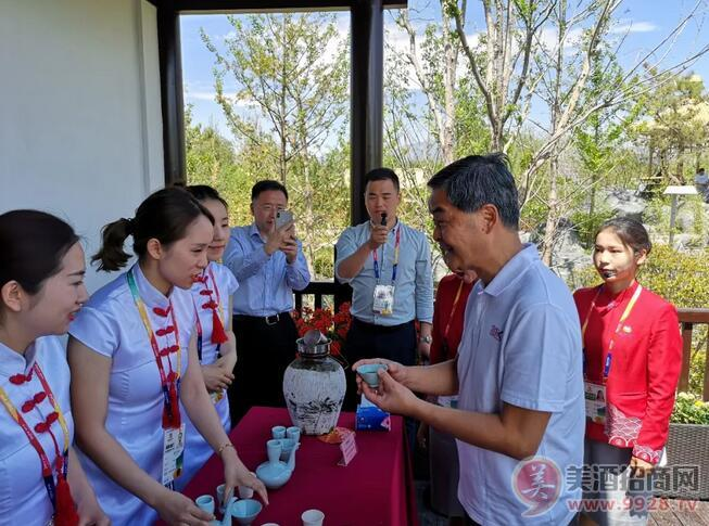 古越龙山参展2019中国北京世界园艺博览会