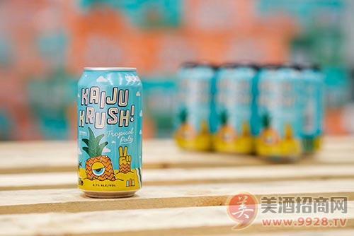 怪兽精酿!热带怪艾尔啤酒