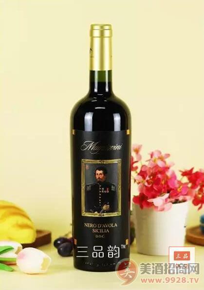 五月花酒庄公爵黑珍珠干红葡萄酒