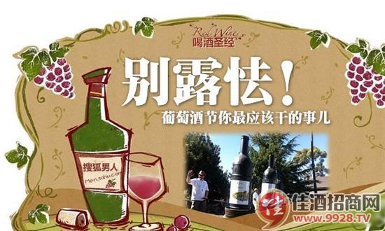 乐享葡萄酒节九大攻略分享-中国佳酒招商网短贺年视频图片