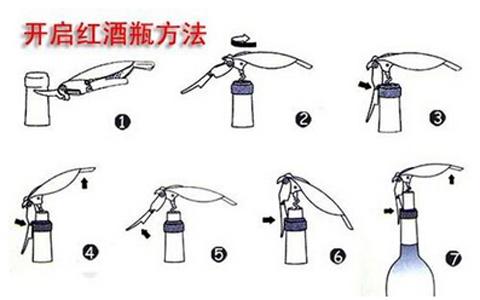 红酒正确的开瓶步骤