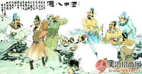 古人饮酒图_中国式酒韵生活情感名家专栏