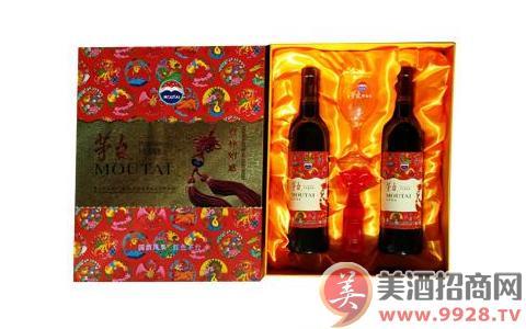 茅台吉祥如意(双红)葡萄酒750ml