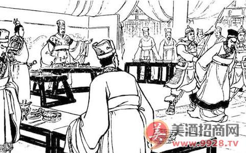 酒文化典故:王允之借酒装醉