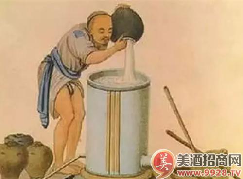 白酒的酿造方法与步骤