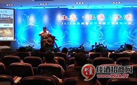 2013贵州酱香型白酒发展高端论坛成功举办