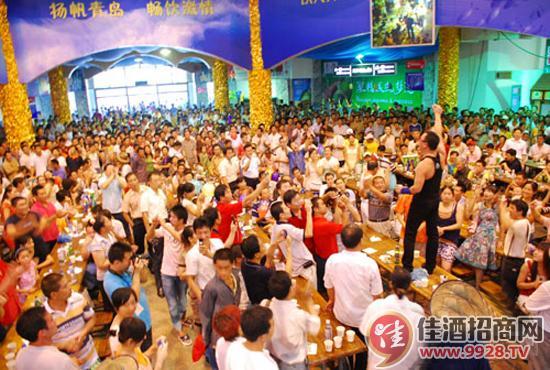 历时16天的第23届青岛国际啤酒节25日