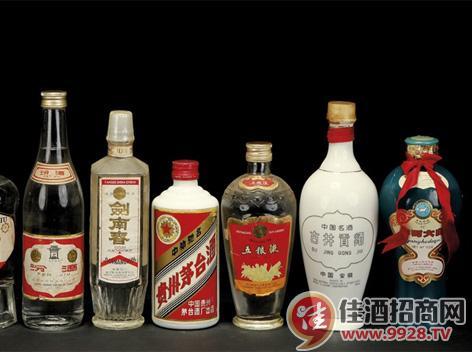 中国名酒品牌名字来源