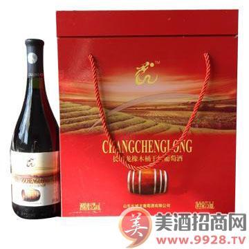 长城龙橡木桶干红葡萄酒