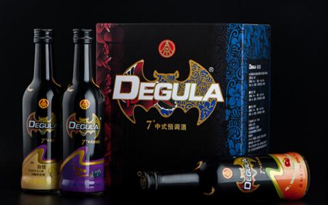 五粮液推德古拉中式预调酒鸡尾酒